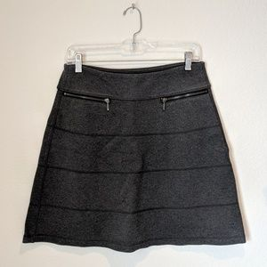 ATHLETA Stretchy Casual Skirt Grey Charcoal Small